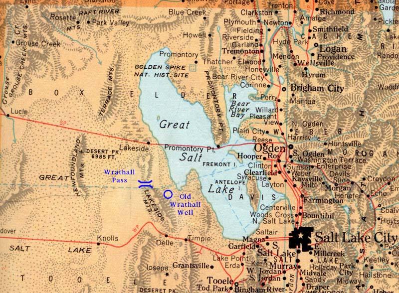Grouse Creek Utah Map.Wrathall Landmarks In Utah